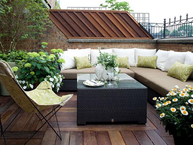 Consigli di arredamento per il tuo terrazzo e il tuo giardino for Tutto per il terrazzo