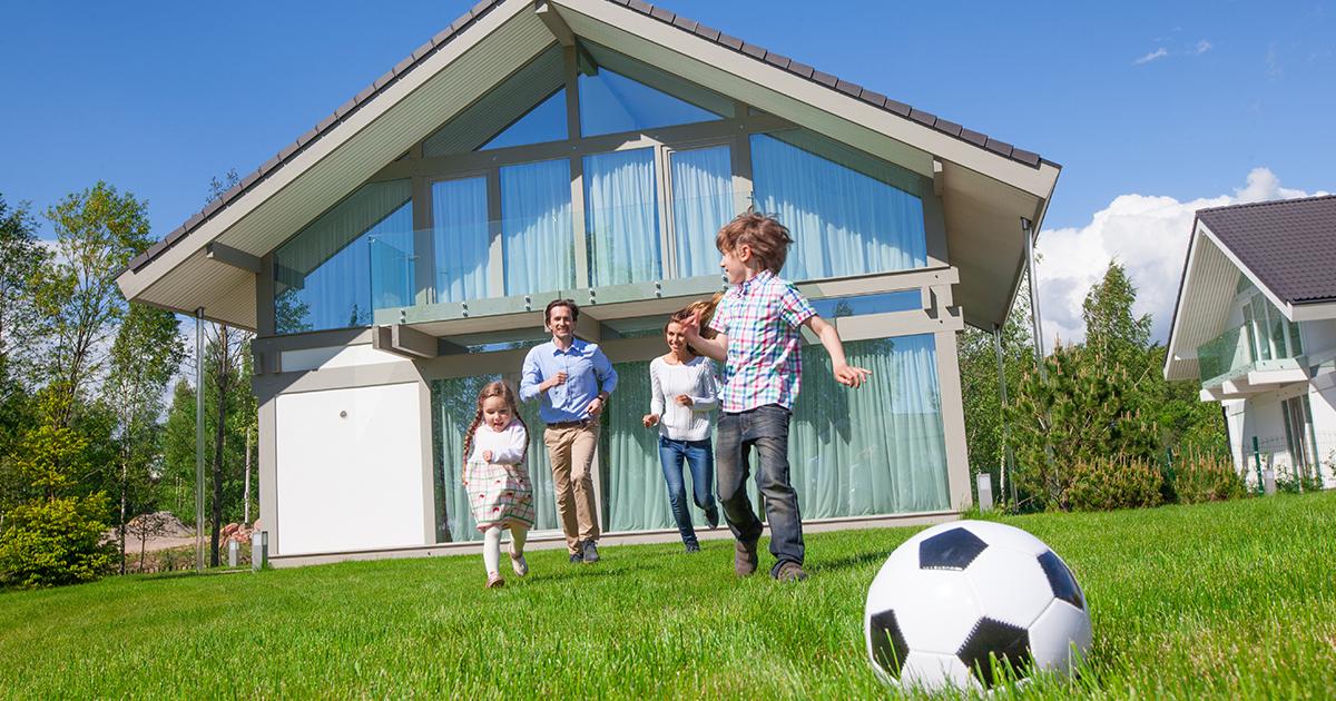 Aumentano richieste casa con giardino