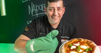 pizza napoletana fatta in casa con Rosario Piscopo