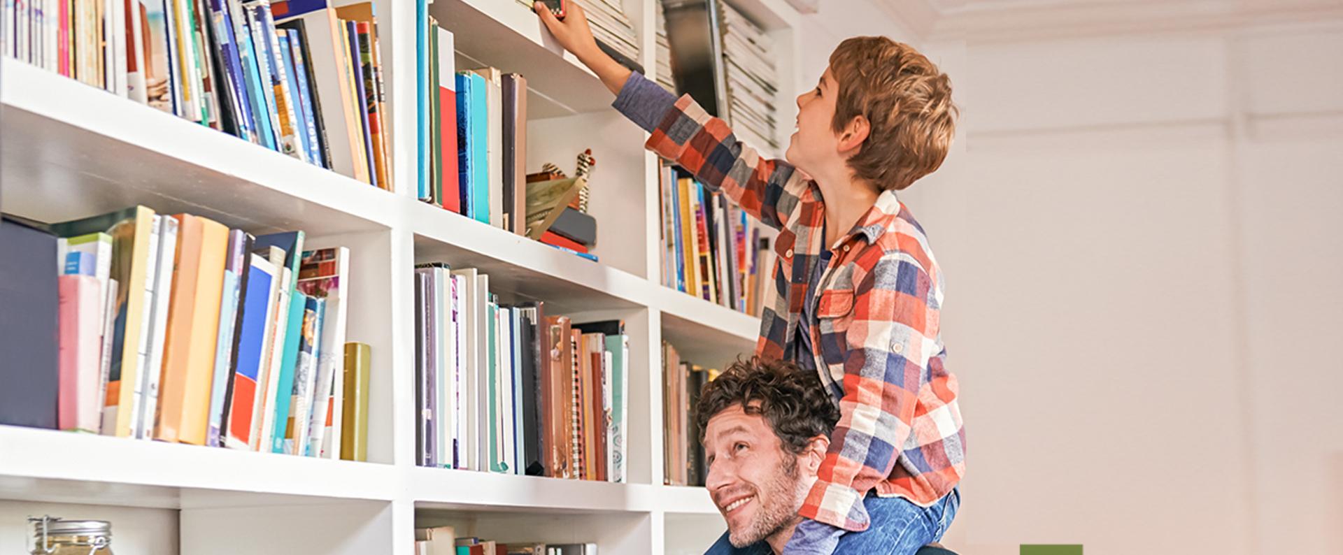 Libreria: idee di arredo